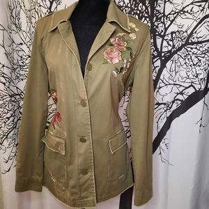 Maurices Draw String Army Jacket